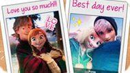 Игра Холодное сердце: Любовный альбом Эльзы и Анны