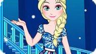 Игра Холодное сердце: Лоскутное платье Эльзы