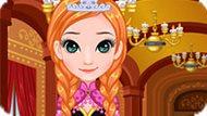 Игра Холодное сердце: Макияж Анны для выпускного