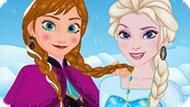 Игра Холодное сердце: Макияж для селфи