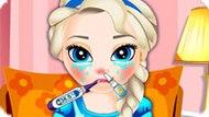 Игра Холодное сердце: Малышка Эльза заболела гриппоом