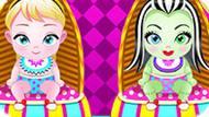 Игра Холодное сердце: Малышки Эльза и Фрэнки