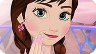 Игра Холодное сердце: Маникюр для принцессы Анны