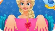 Игра Холодное сердце: Маникюр принцессы Эльзы
