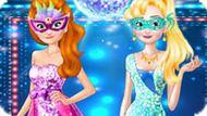 Игра Холодное сердце: Маскарад Эльзы и Анны