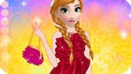 Игра Холодное сердце: Модная Анна