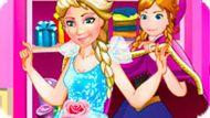 Игра Холодное сердце: Модная история Эльзы и Анны