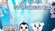 Игра Холодное сердце: Модные животные Эльзы