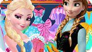 Игра Холодное сердце: Модный магазин Анны