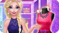 Игра Холодное сердце: Модный наряд Эльзы