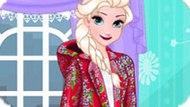 Игра Холодное сердце: Модный плащ Эльзы