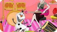 Игра Холодное сердце: Музыкальная комната Эльзы