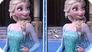 Игра Холодное сердце: Найди 6 отличий с Эльзой