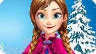 Игра Холодное сердце: Натуральный макияж Анны
