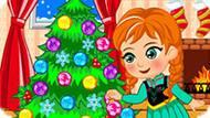 Игра Холодное сердце: Новогоднее безделье Анны
