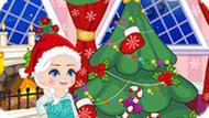 Игра Холодное сердце: Новогоднее безделье Эльзы