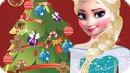 Игра Холодное сердце: Новогодний шоппинг Эльзы