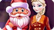 Игра Холодное сердце: Новогодняя уборка Эльзы