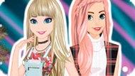 Игра Холодное сердце: Новый стиль Эльзы и Анны