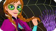 Игра Холодное сердце одевалка: Анна Хэллоуин