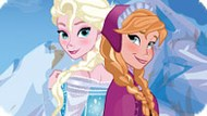 Игра Холодное сердце одевалка: Эльза и Анна