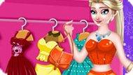 Игра Холодное сердце: Одевалка Эльза