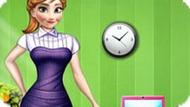 Игра Холодное сердце: Офисный стиль Анны