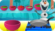 Игра Холодное сердце: Олаф готовит сингаду