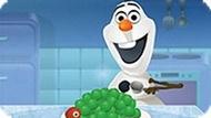 Игра Холодное сердце: Олаф готовит торт из мороженого