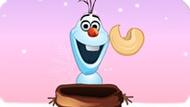Игра Холодное сердце: Олаф ловит орехи