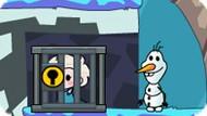 Игра Холодное сердце: Олаф спасает Эльзу и Анну