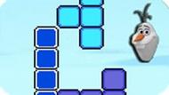 Игра Холодное сердце: Олаф тетрис