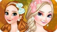 Игра Холодное сердце: Осеннее путешествие Эльзы и Анны