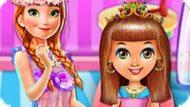 Игра Холодное сердце: Парикмахерская Анны