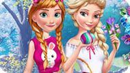 Игра Холодное сердце: Пасха Эльзы и Анны