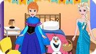 Игра Холодное сердце: Пасхальная комната Эльзы и Анны