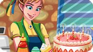 Игра Холодное сердце: Пекарня принцессы Анны