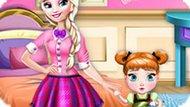 Игра Холодное сердце: Переделка комнаты для сестер