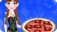 Игра Холодное сердце: Пицца от Анны