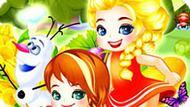 Игра Холодное сердце: Пикник принцессы Эльзы