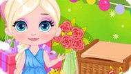 Игра Холодное сердце: Пикник в день рождения Эльзы