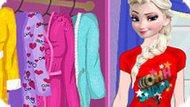 Игра Холодное сердце: Пижамная вечеринка Эльзы