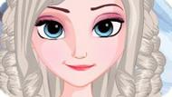 Игра Холодное сердце: Плетеные прически Эльзы