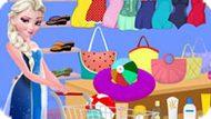 Игра Холодное сердце: Пляжные покупки Эльзы