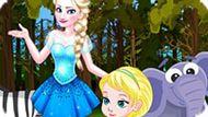 Игра Холодное сердце: Поездка Эльзы в лес