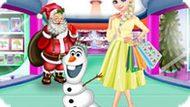 Игра Холодное сердце: Праздничный шоппинг Эльзы