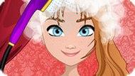 Игра Холодное сердце: Прическа Анны