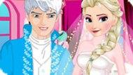 Игра Холодное сердце: Приготовления к свадьбе Эльзы