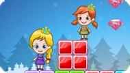 Игра Холодное сердце: Приключение Эльзы и Анны в радужной стране