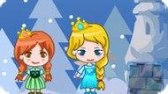 Игра Холодное сердце: Приключение Эльзы и Анны